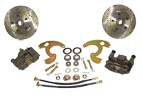 67-69 Chevrolet Camaro Front Disc Brake Conversion Wheel Kit