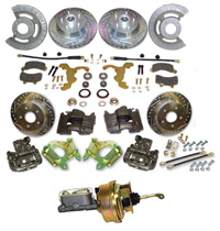 1960-73 Oldsmobile Complete Front Disc Kit Booster Combo